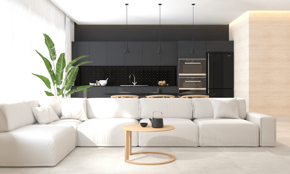 living room 2 interiors - Sabiina Design Atelier