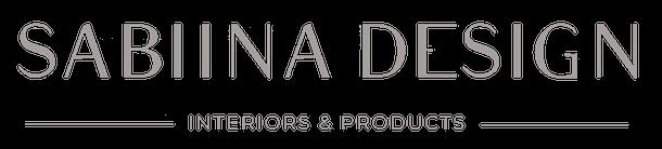 Logo Sabiina Design - Design de Interiores
